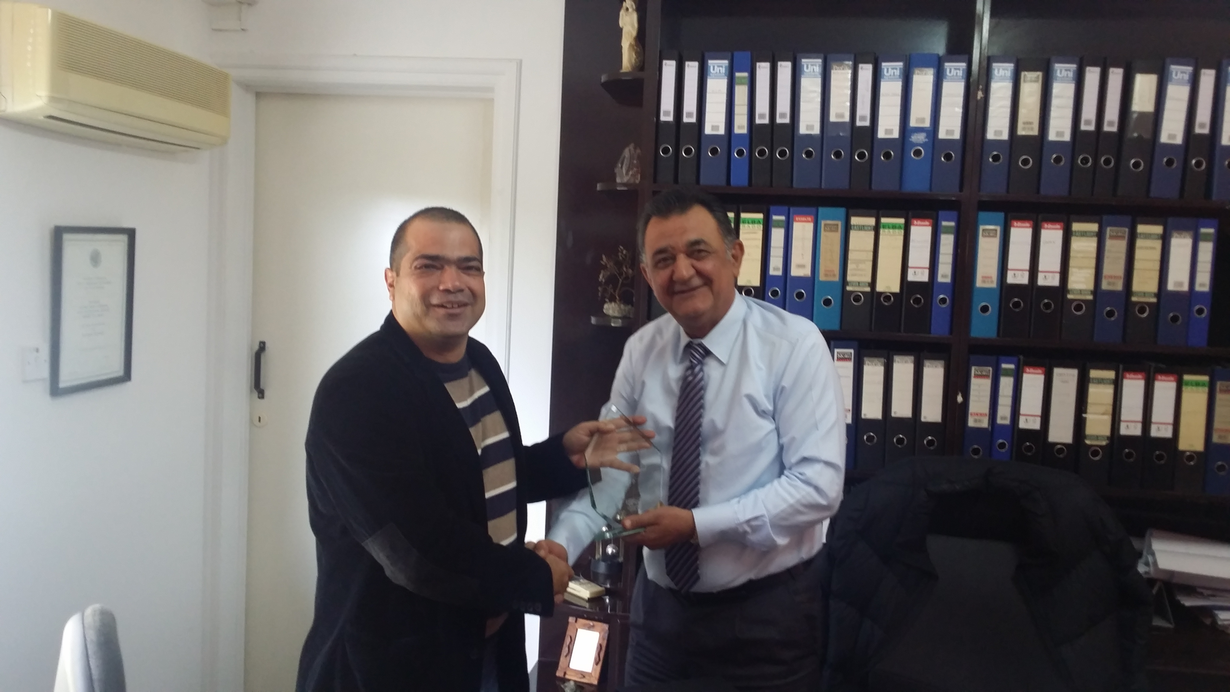 Η εταιρεία Athinodorou Beton Ltd βράβευσε για Τρίτη συνεχόμενη χρονιά τους συνεργάτες της που διακρίθηκαν στον κλάδο τους.